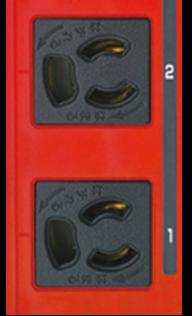 冗長電源識別200V・100Vコンセントバーシリーズの特長
